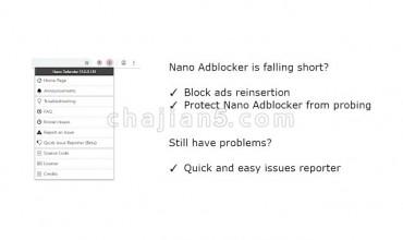 Nano Defender(Nano Adblocker的配套插件)