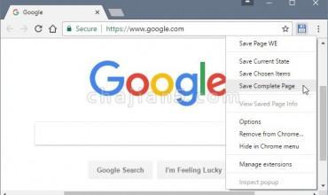Save Page WE – 保存完整网页为单独 HTML 文件(离线使用)