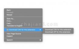 CRX Extractor/Downloader Chrome插件CRX文件下载 支持下载为ZIP