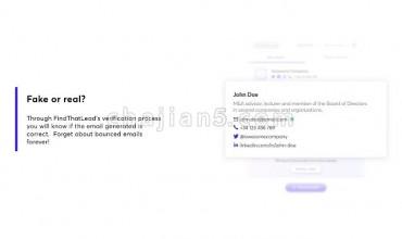 FindThatLead 助你在Linkedin和Twitter上开发潜在客户