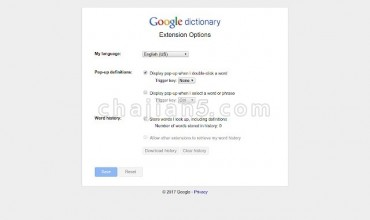 Google Dictionary (by Google) 谷歌词典 官方出品