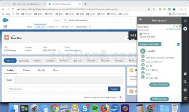 Lead411 Chrome Extension