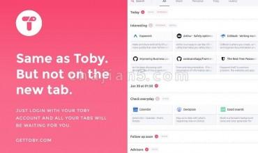 Toby Mini 标签页管理工具