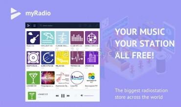 myRadio 免费听广播电台节目