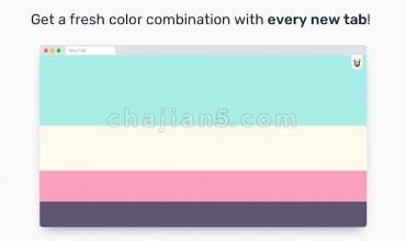 Color Tab 打开新建标签页不同的背景颜色