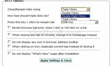 Double Click Closes Tab 双击网页空白处关闭当前标签页