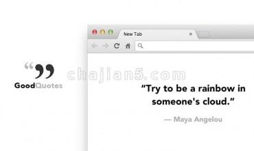 Good Quotes 简洁的新标签页插件