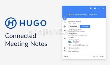 Hugo 在谷歌日历中为会议创建议程和笔记