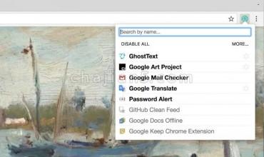 快捷扩展管理 Google插件管理器 一键快速激活、禁用插件