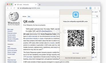One Click QR Code Generator QR码二维码生成器