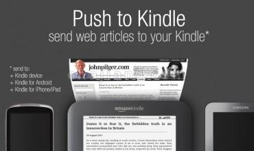 Push to Kindle 把网页文章推送到 Kindle设备上