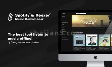 Spotify™ & Deezer™ Music Downloader 下载Spotify和Deezer网站上的音乐
