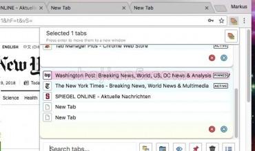 Tab Manager Plus for Chrome 浏览器标签页管理器