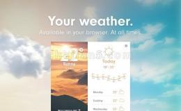 Weather 天气预报插件