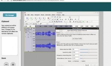 Audacity 在线音频编辑器(消除噪音 配音剪切和合并剪辑)