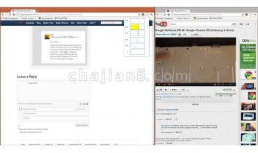 Dualless 浏览器分屏插件 显示两个屏幕