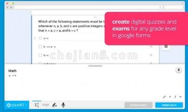 EquatIO – Math made digital 轻松创建数学方程,公式和测验