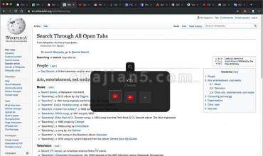 Quick 'A' – Tabs Switch 键盘快捷键快速切换网页标签