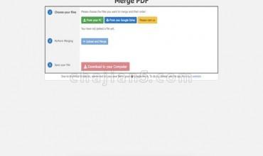 Merge PDF 合并Google Chrome™的PDF