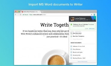 Writer – Extension & Clipper从任何选项卡创建,访问和编辑Writer文档