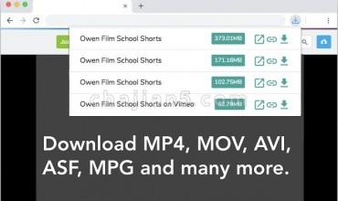 Video Downloader for Chrome适用于Chrome的视频下载器