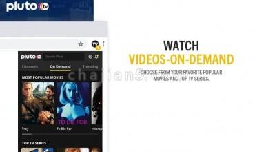 Pluto TV 免费在Chrome上看100多个电视频道