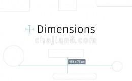 Dimensions 前端开发设计师工具 页面元素pixel尺寸测量