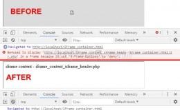 Ignore X-Frame headers开发工具