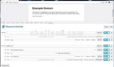 Resource Override 前端调试工具 可以重定向特定的url地址
