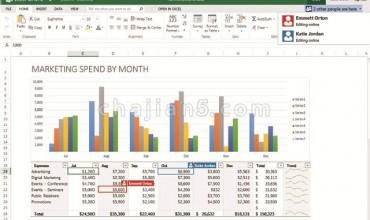 Excel Online 在线创建、编辑和共享 Excel 电子表格